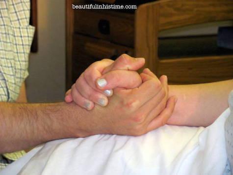 preparing for VBAC husband 3