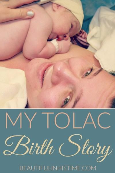 TOLAC birth story
