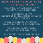 New Years Resolutions For Tired Moms {+ a FREE PRINTABLE}