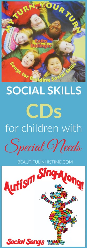 Children with special needs especially struggle with social skills. Here are two fun and entertaining CDs to teach your child appropriate social skills.