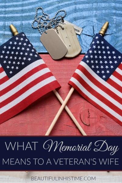 memorial day veterans wife