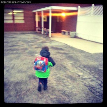 FIRST DAY OF PRESCHOOL 1