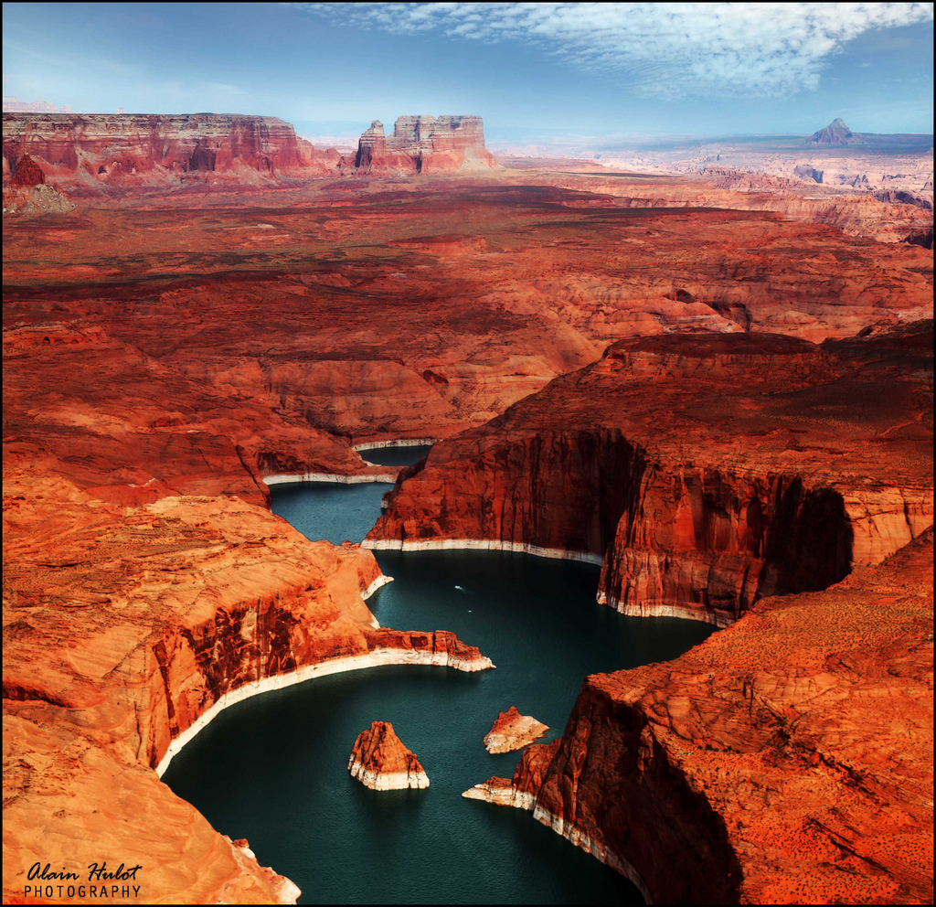 Lake Powell Utah And Arizona United States Beautiful