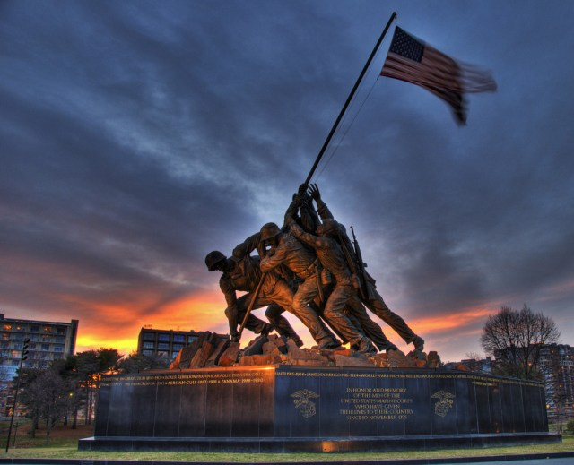 US Marine Corps Memorial, Washington DC, United States