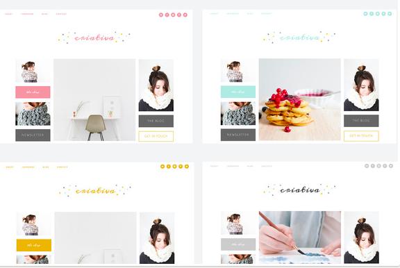 Criativa Genesis Child Theme WordPress Themes