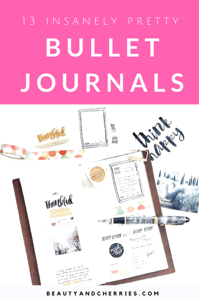 Collection of Bullet Journals To Start Your New Obsession That is Perfect To Kick Start Your Productivity
