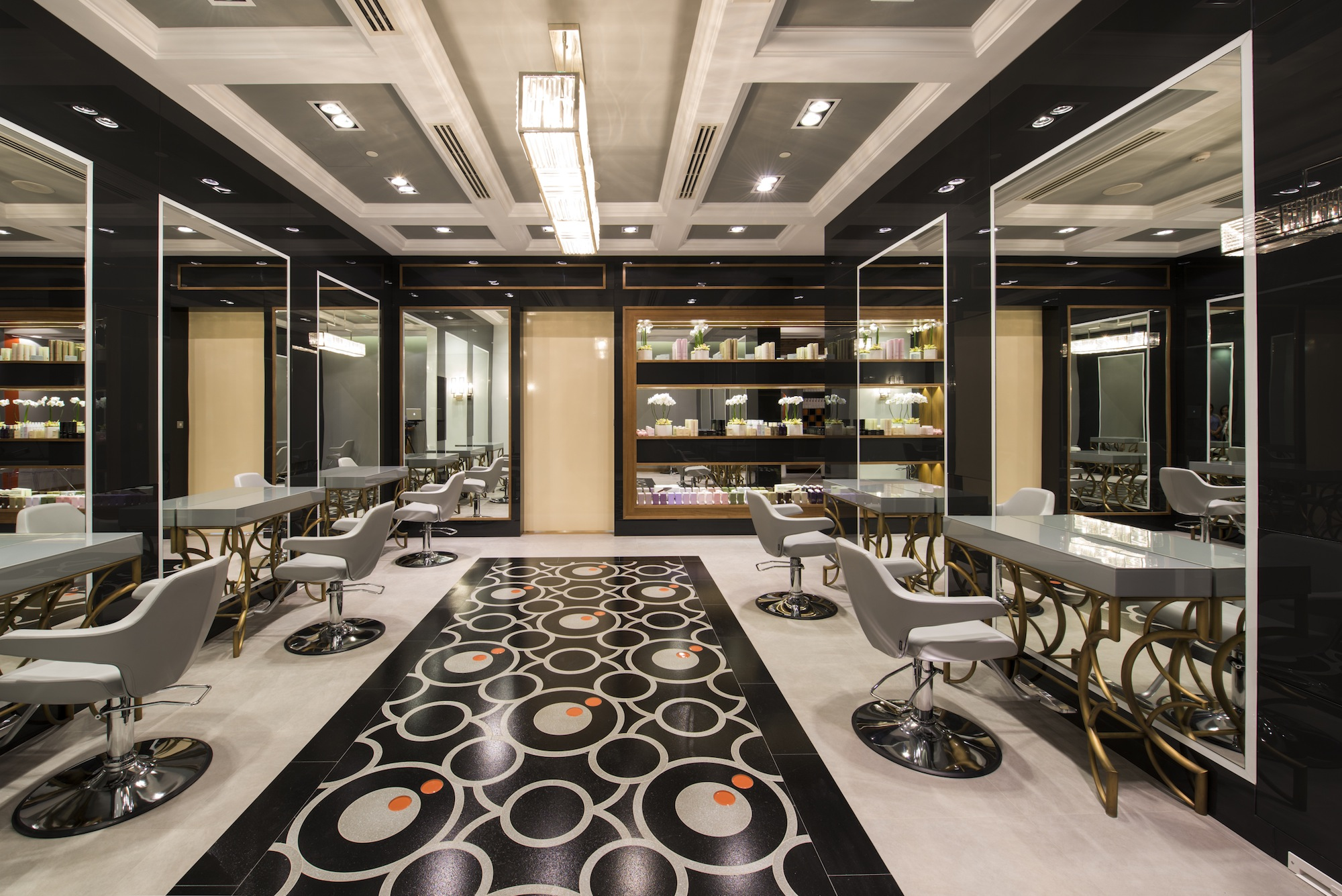 Marquee now showing glamorous new hair salon launches in for Beauty salon in uae