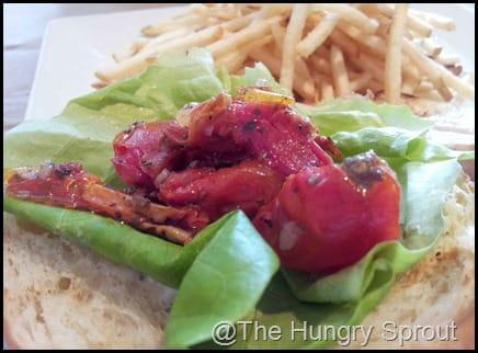 Mahi Sandwich- The Ravenous Pig