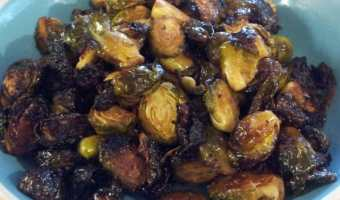 Roasted Balsamic Brussel Sprouts