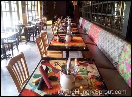 Cafe Tu Tu Tango dining room