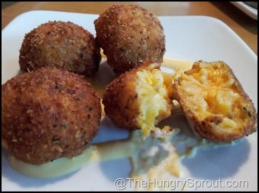 Fried Mac and Chese