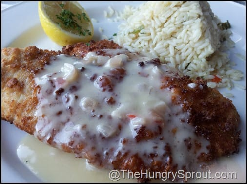 Parmesan Crusted Snapper