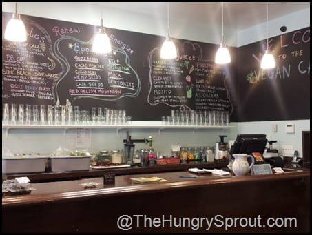 The Vegan Cafe The Hungry Sprout