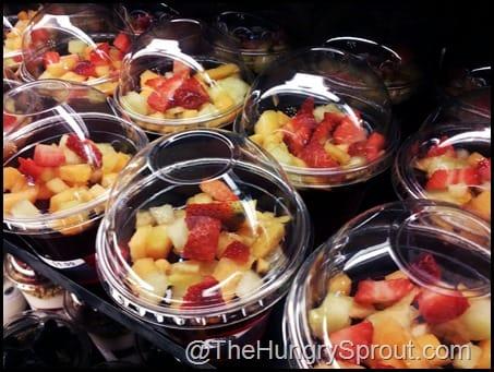 Earl of Sandwich fresh fruit