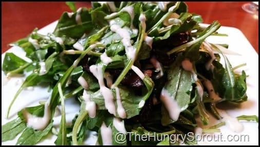 Arugula and Truffle Salad