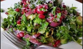 Fried Brussels Sprout Salad