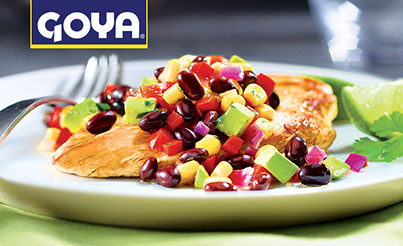 I Made GOYA® Fiesta Chicken and Black Beans! See what I thought {Recipe}