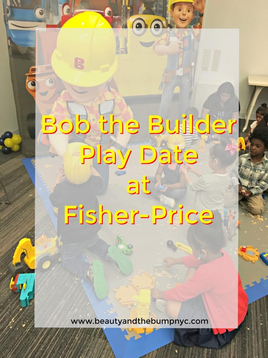 Event Recap: Bob the Builder Play Date #BobPlayDate