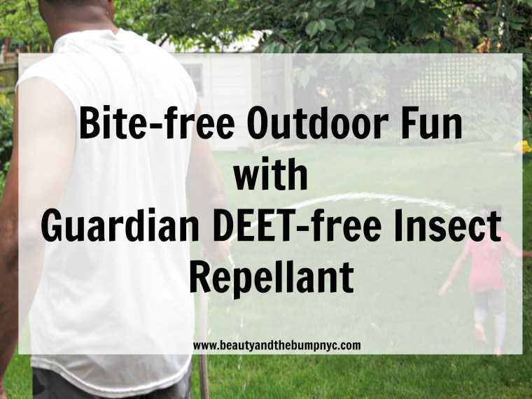 Guardian Deet-Free Insect Repellants for outdoor