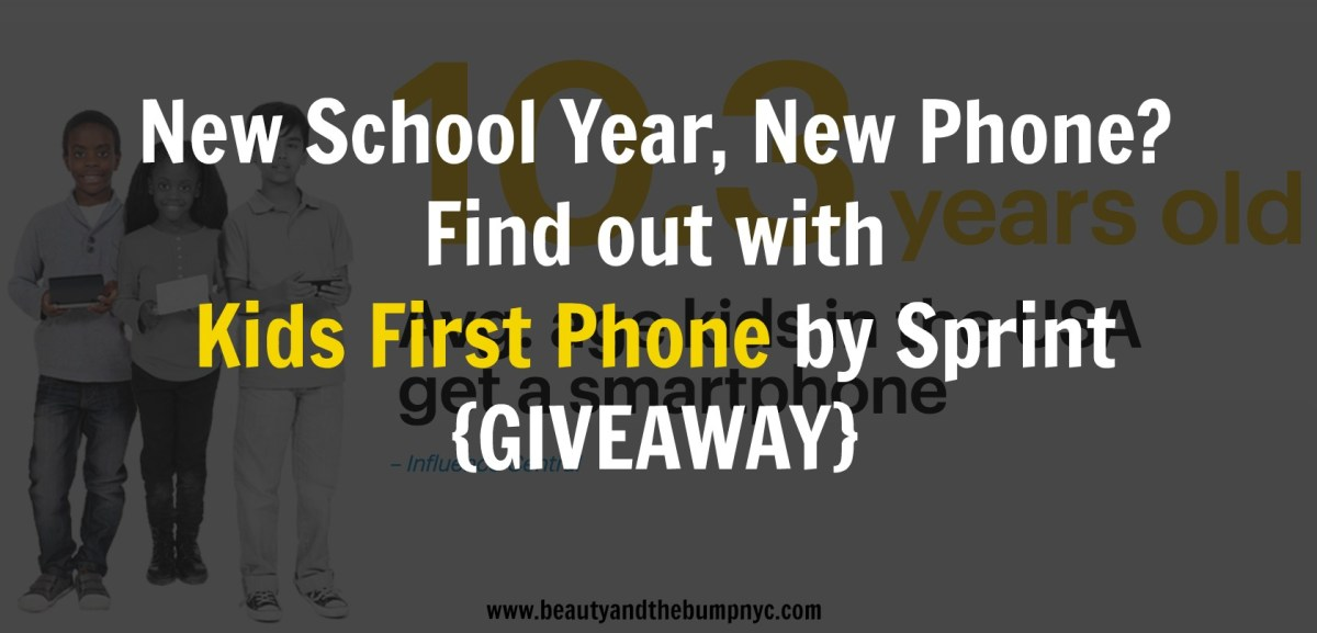 New School Year, New Phone? Find out with Kids First Phone {GIVEAWAY}