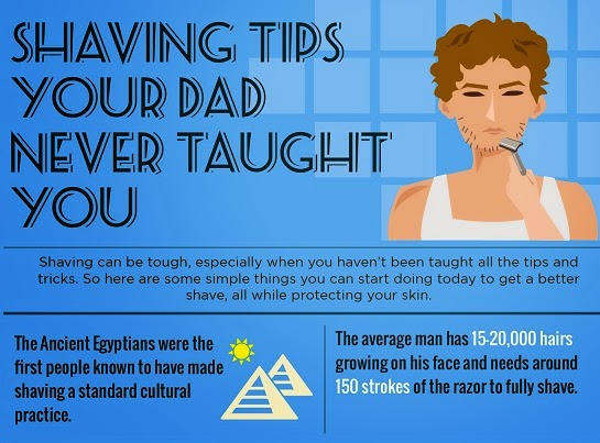 Shaving Tips Your Dad Never Taught You