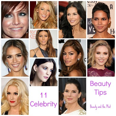 11 Celebrity Beauty Tips