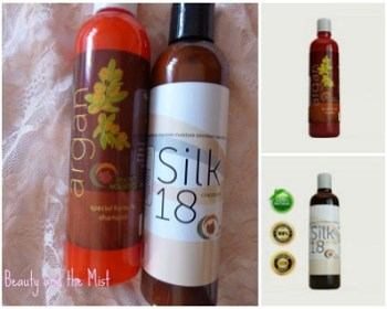 argan shampoo silk conditioner