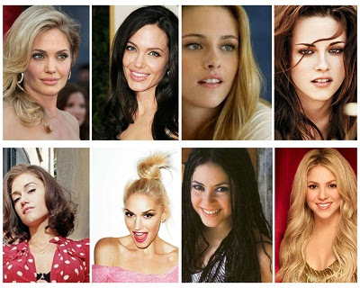 celebrities blonde vs brunette