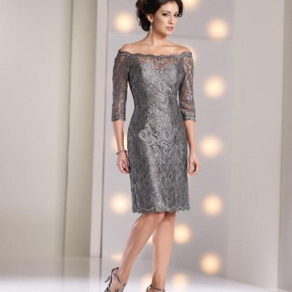 off-shoulder-knee-length-silver-lace-sheath-column-mother-of-the-bride-dress-b2mc0073-a