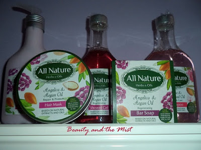 All Nature Hair and Body Products Review