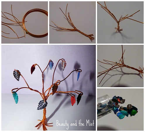 DIY wire tree