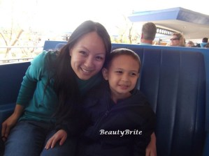 On his favorite ride, People Mover