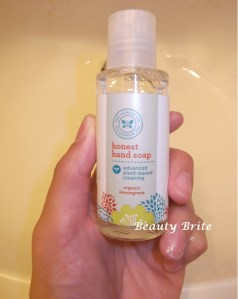 The honest company hand soap beautybrite
