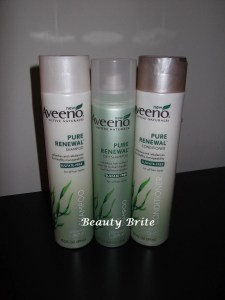 Aveeno Pure Renewal Collection