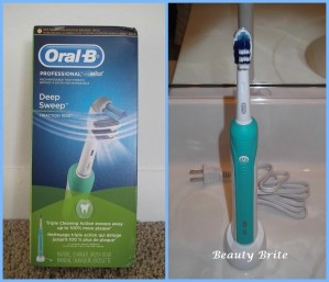 Oral-B Deep Sweep TRIACTION 1000