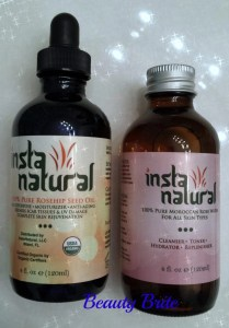 Instanatural Rose Water and Rosehip Seed Oil
