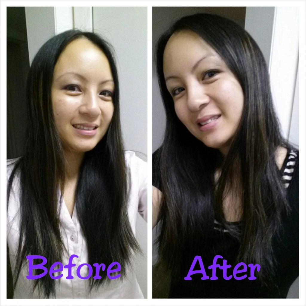 Beauty Brite Wen Before/After