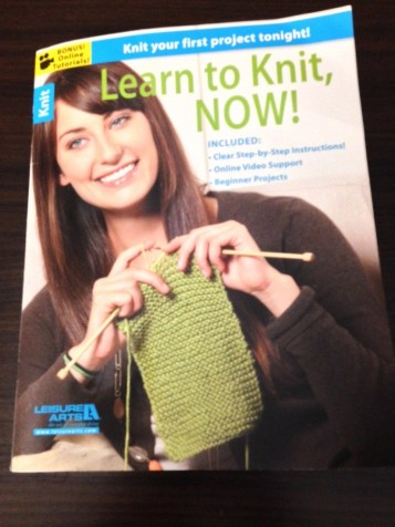 Learn To Knit Now!, published by Leisure Arts, Inc.