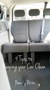 4 Tips to Keeping your Car Clean