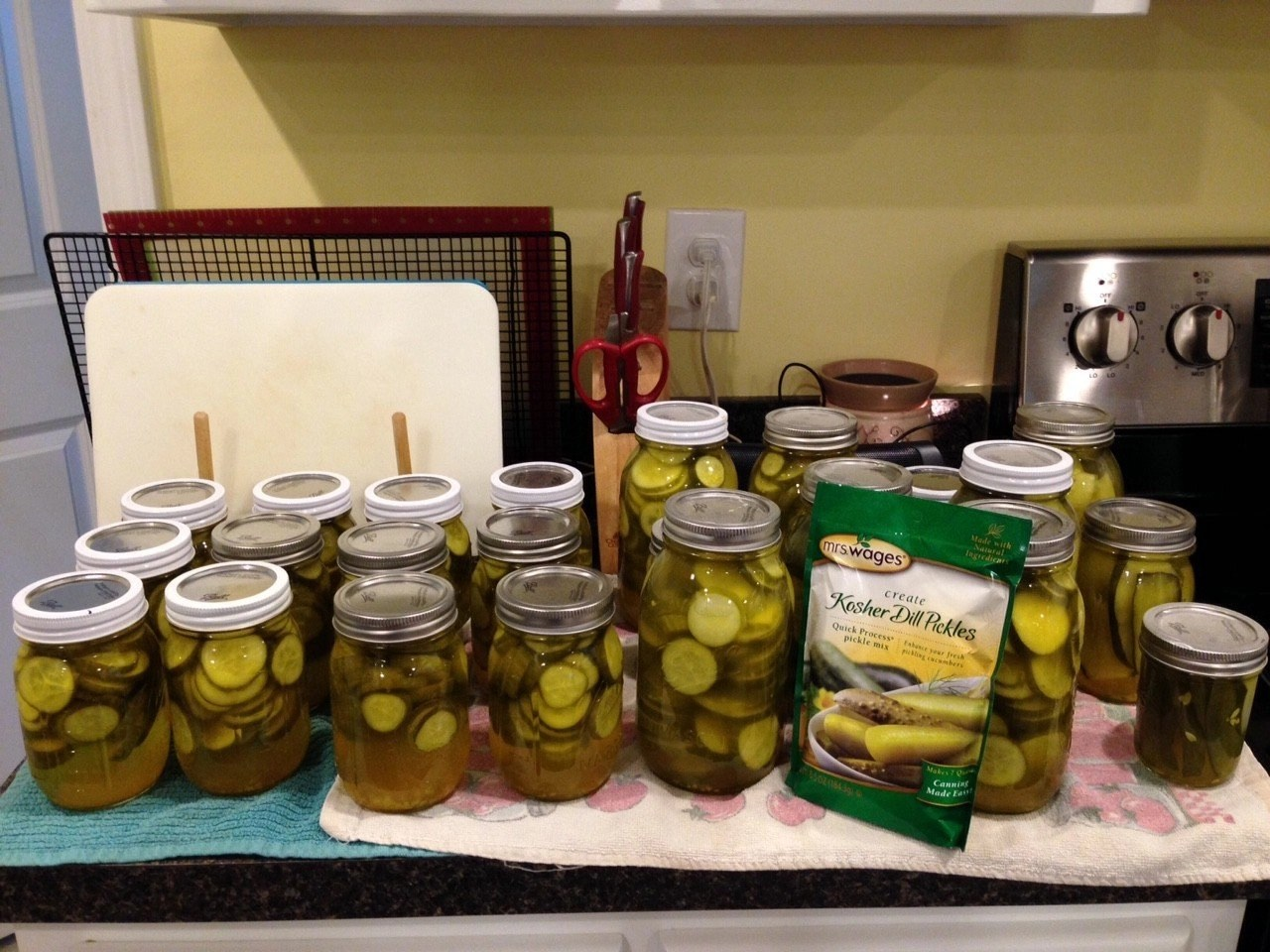 Pickles 1Family Pickle Canning -- Sharing is Caring