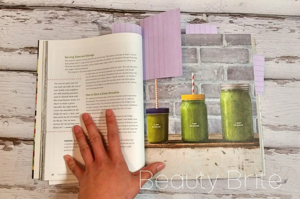Inside Simple Green Smoothies