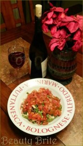 'Winter in Tuscany' Pasta Sauce