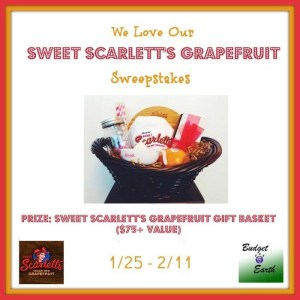 We Love our Grapefruit Sweepstakes 2