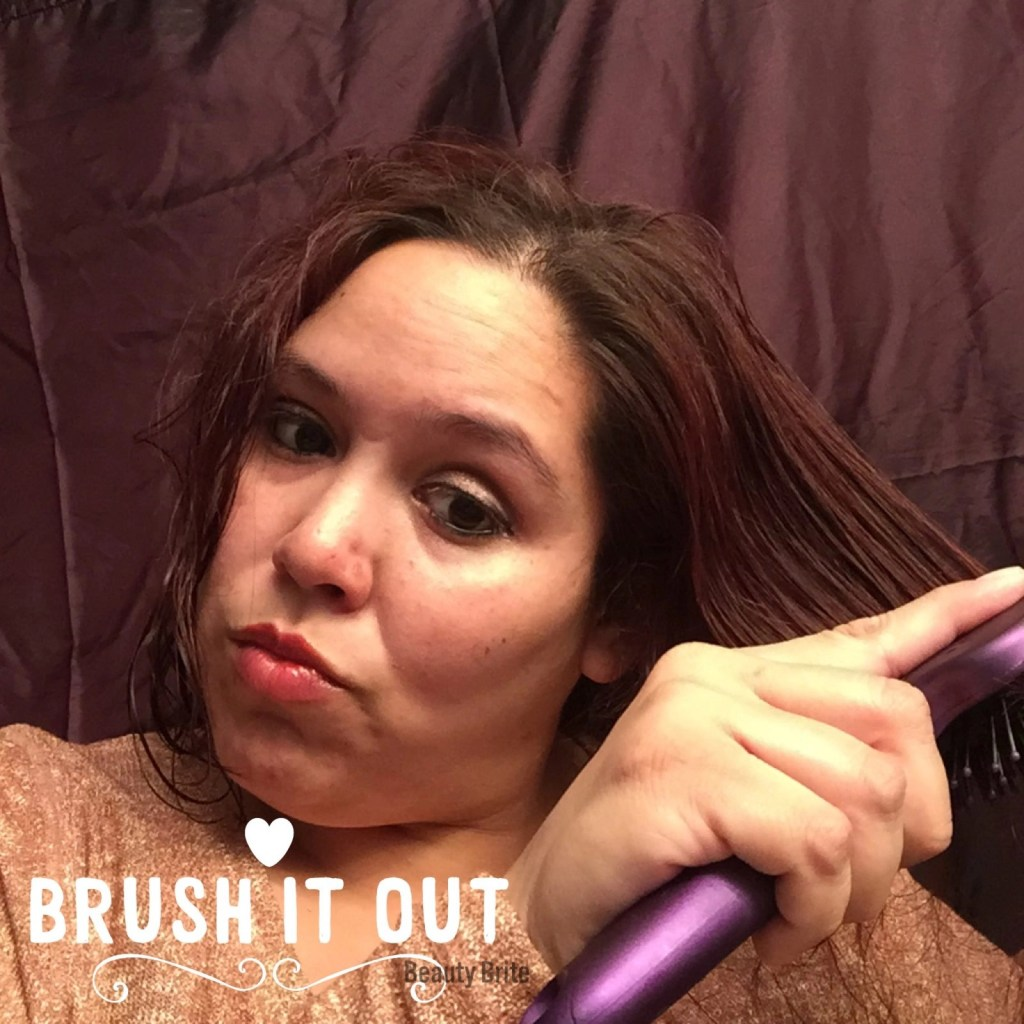 Brush it out