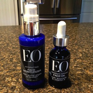 EO Ageless Skincare-bottles out of packaging