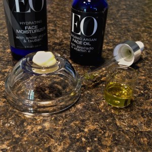 EO Ageless Skincare-products on display