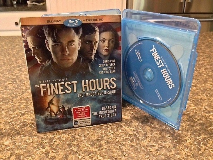 Disney-The Finest Hours DVD