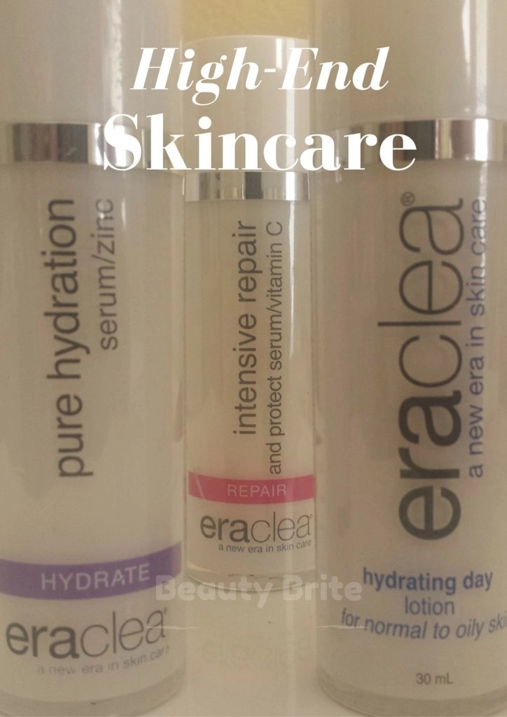 The Pure Hydration Serum/Zinc, Intensive Repair and Protect Serum/Vitamin C, and the Hydrating Day Lotion for Normal to Oily Skin in