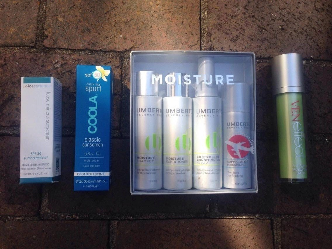 Vacation Essentials! Coola, VENeffect, Umberto, ColorScience