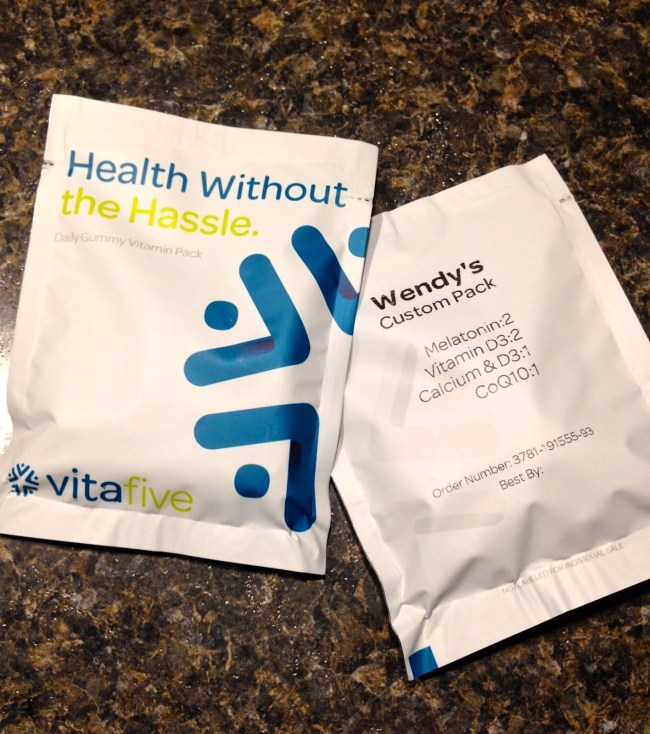 Vitafive Monthly Vitamin Subscription
